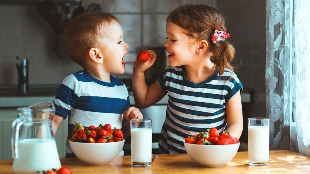 Alergias alimentarias en niños y bebés.